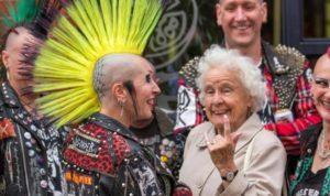 punk grandma