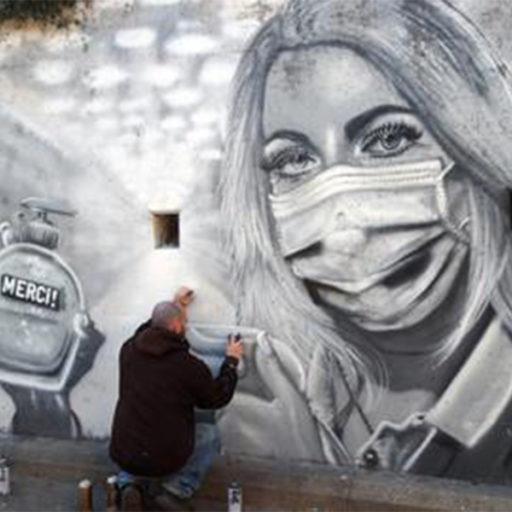 Arte callejero en tiempos de pandemia